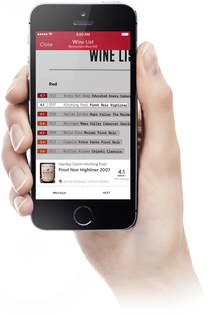 Download the Vivino App